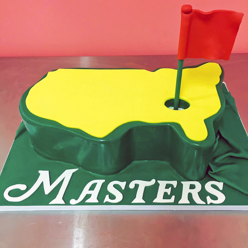 Pictures Of Golf Birthday Cakes