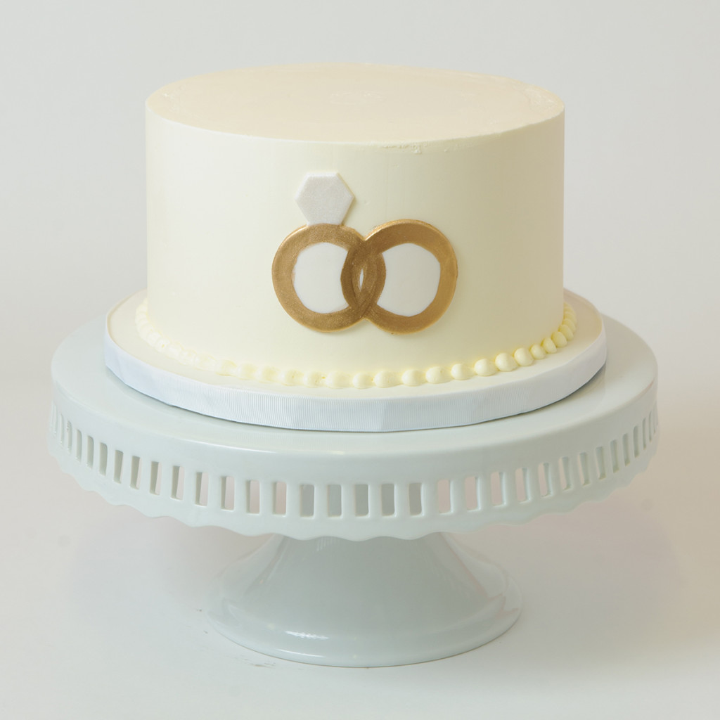Double Wedding Rings Cake Elysia Root Cakes
