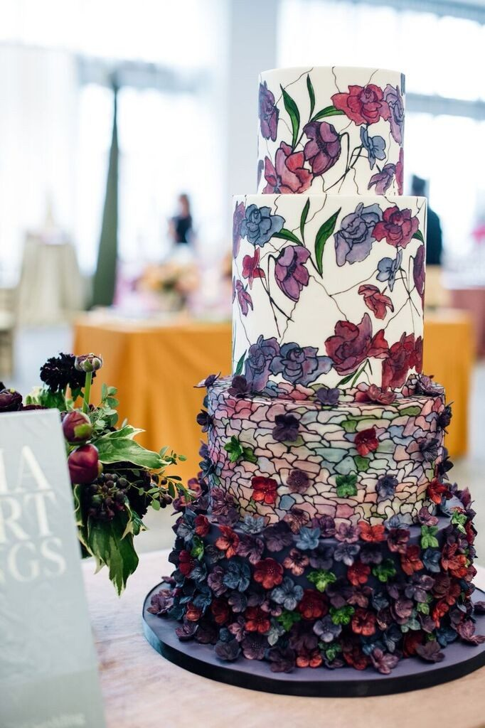 Hand Painted Details To Elevate Your Cake Design Elysia Root Cakes